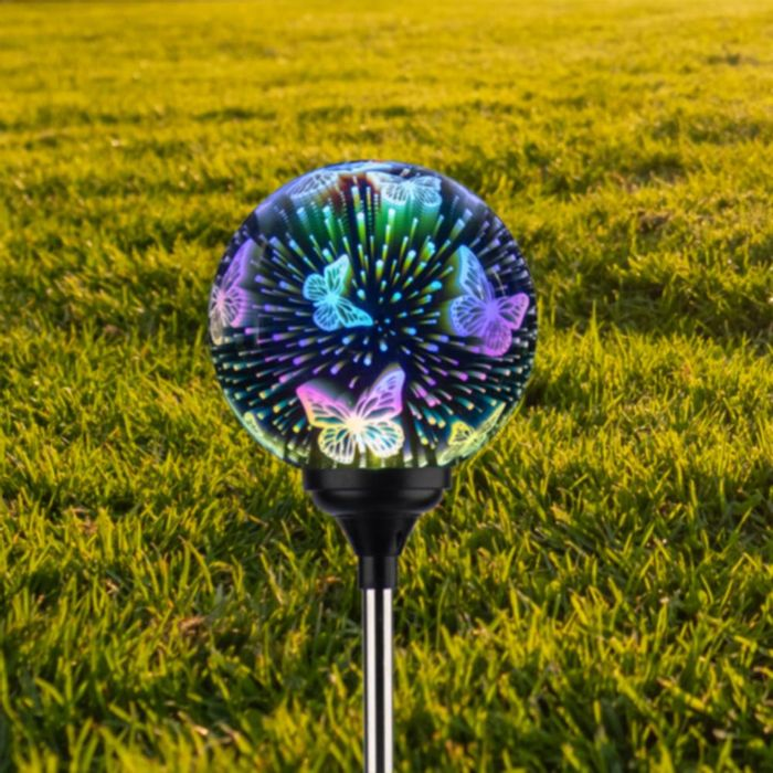 Firefly: Solar Light 3D Stake