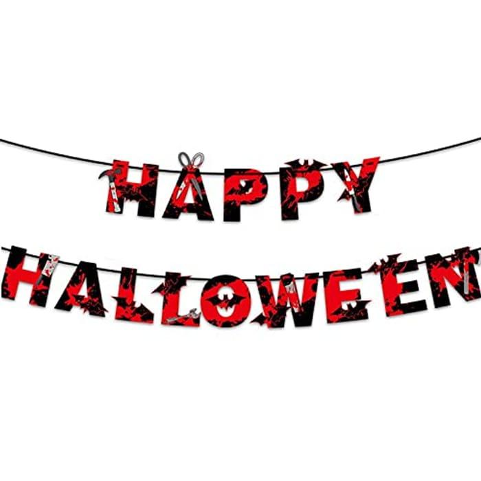 Vanthylit Happy Halloween Banner