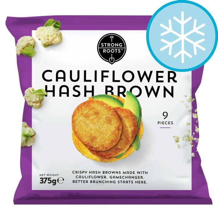 Strong Roots Cauliflower Hash Brown 375g