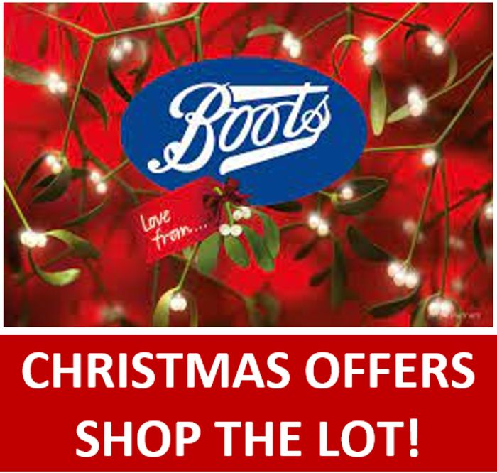 Special Offer! Boots - CHRISTMAS OFFERS - Shop the Lot!
