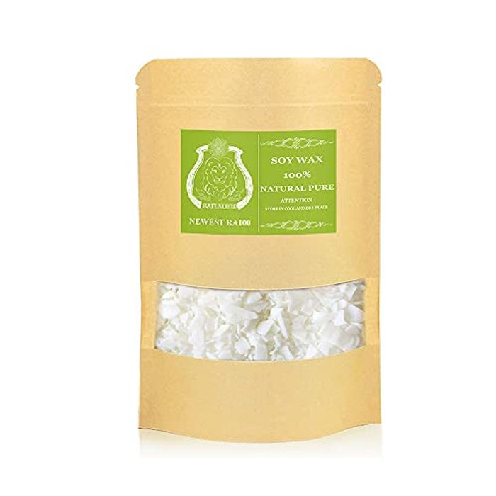 Soy Wax Flakes,Soy Wax for Candle Making,Soya Wax,White,1kg
