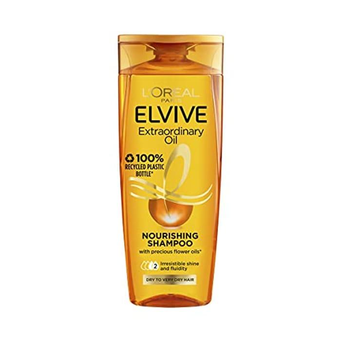 L'Oreal Elvive Extraordinary Oil Shampoo, 400ml