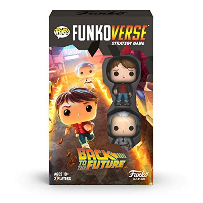 Funkoverse: Back to the Future Strategy Game - £9.99 at Amazon