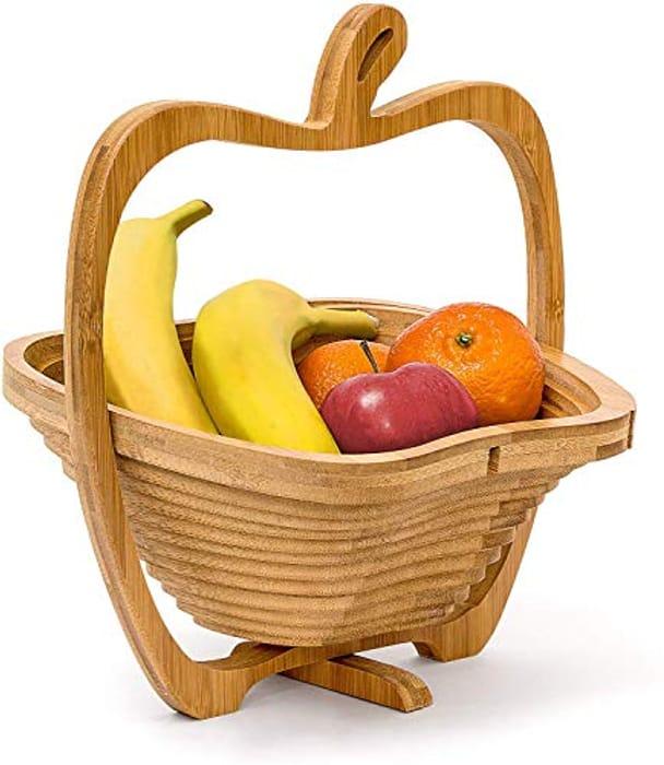 Foldable Apple-Shaped Basket