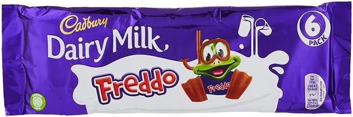 Cadbury Freddo 6 Bar Multipack, 108g