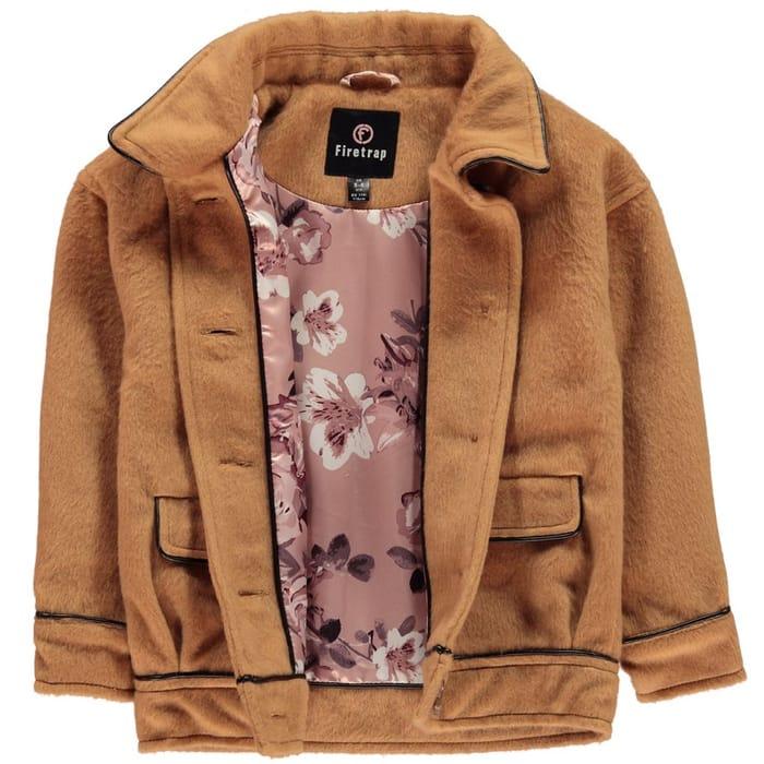 BARGAIN - FIRETRAP Wool Coat Junior Girls