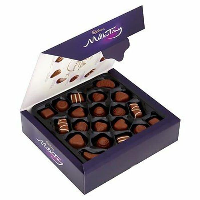 Cadbury Milk Tray Chocolate Box 360g -Save 50%