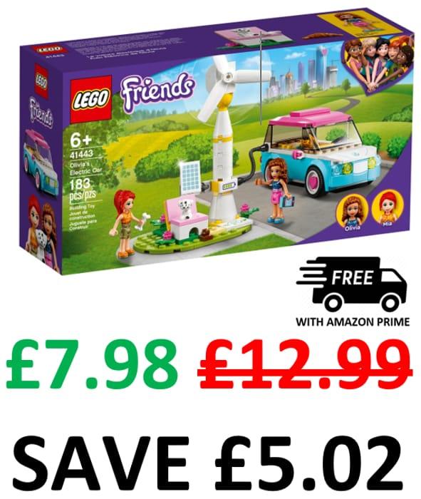 SAVE £5 - LEGO Friends - Olivia's Electric Car - 41443