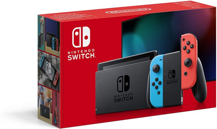 SAVE £20.99 Nintendo Switch (Neon Red/Neon Blue) Console