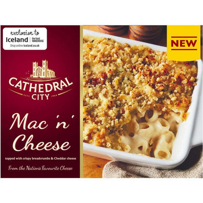 2 for £5 (NEW) Cathedral City Mac 'N' Cheese 450g