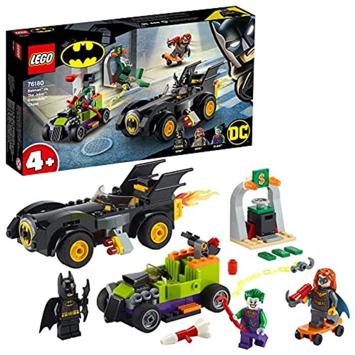 CHEAP! LEGO Batman vs. the Joker - Batmobile Chase (76180) + FREE DELIVERY