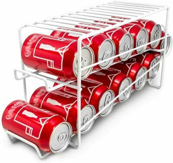 Neo Food Tin Can & Drink Dispenser for Cupboard & Fridge Rack Holder Storage