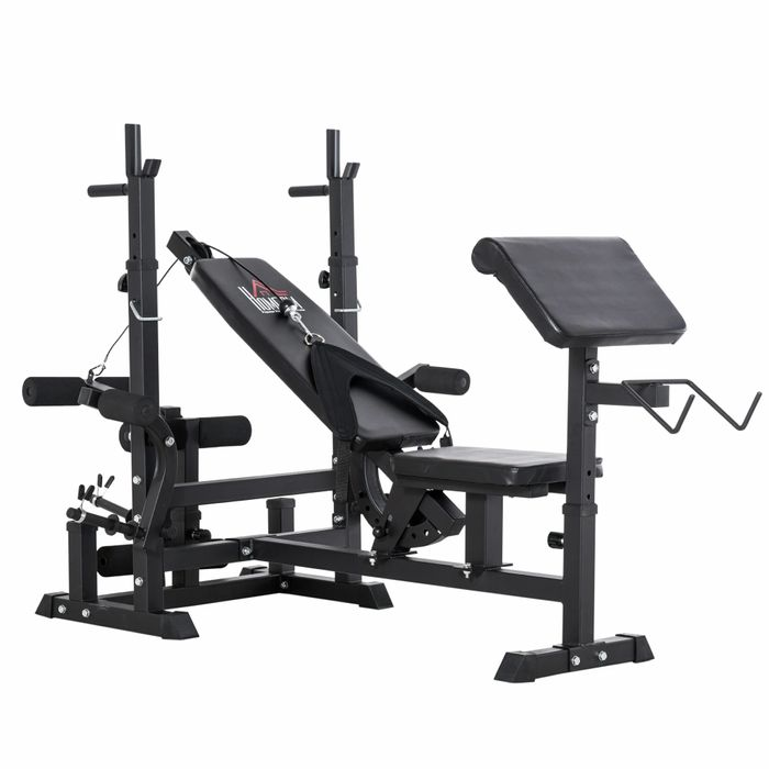 HOMCOM Multi-Position Olympic Home Gym FREE DELIVERY