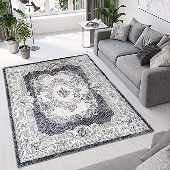 DEAL STACK - Unique Bohemian Chic Distressed Oriental Vintage Carpets + Code