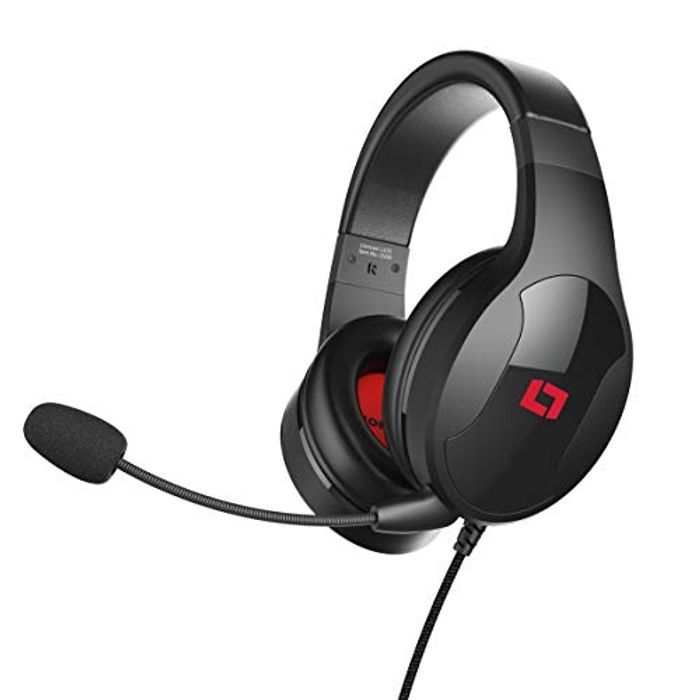 Lioncast Ultralight Gaming Headphones with Detachable Microphone - Only £7.69!