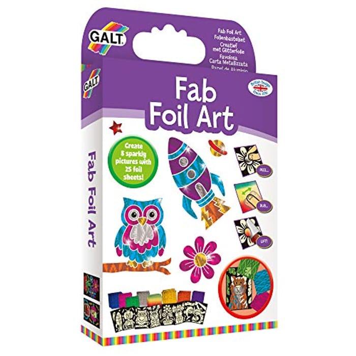 Cheap Galt Toys, Fab Foil Art, Craft Kit for Kids - Only £4.99!