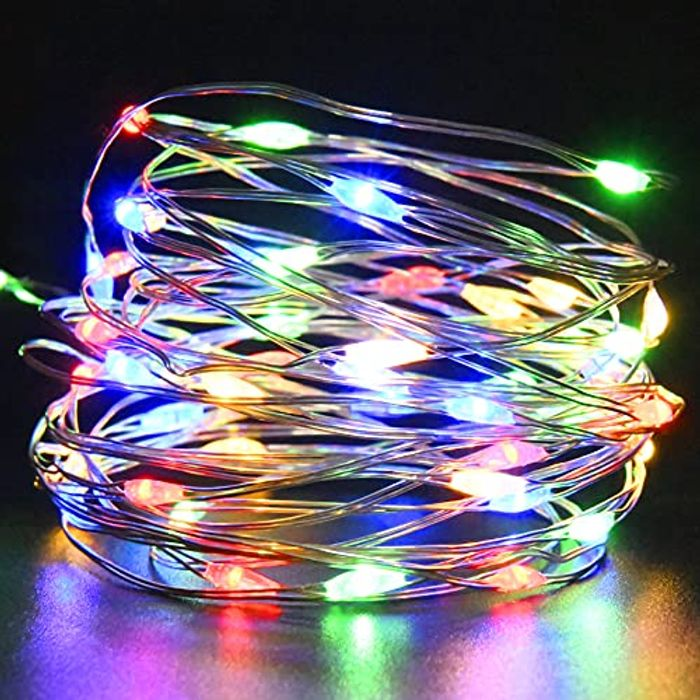 5m Fairy Lights - Battery Operated (Various Colours)