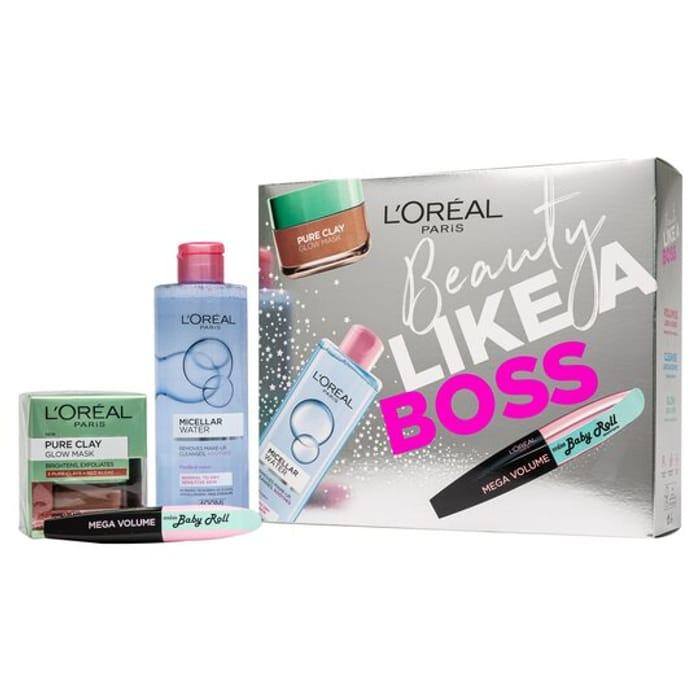 L'oreal Paris Beauty like a Boss Gift Set - Only £5.00!