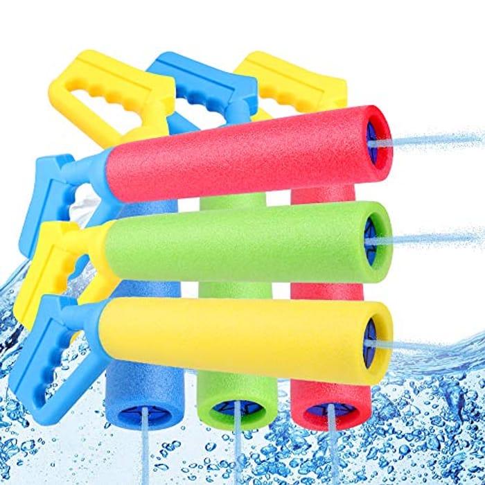 NZQXJXZ Water Gun, Kids Toys Water Shooter Games - Only £4.99!