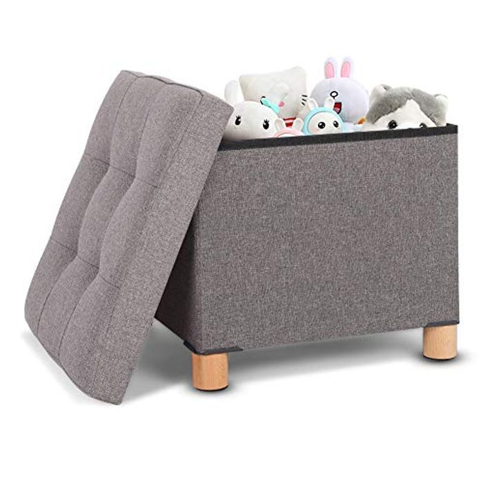 Footstool with Storage - Only £9.87!