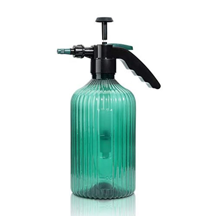 T4U 2L Fine Mist Spray Bottle Plastic, Hand Held Pressure with £5 off Coupon