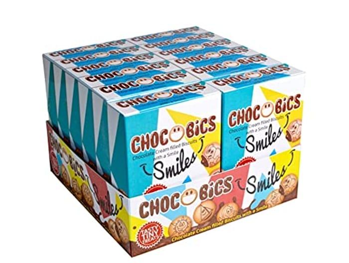 Choco Bics - Chocolate Flavour Cream Filled Biscuits