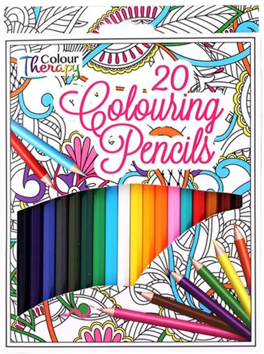 Colour Therapy Colouring Pencils - 20 Pack
