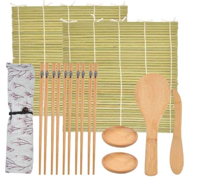 12pcs Sushi Making Kit at Amazon