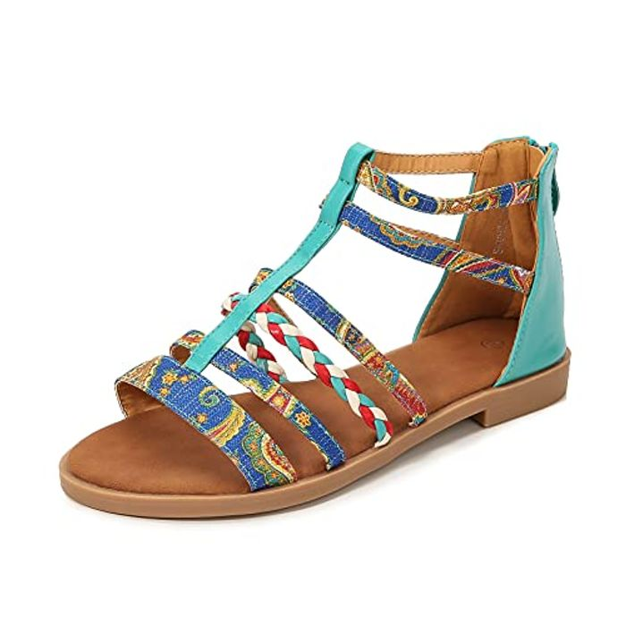 DEAL STACK - NUHEEL Bohemian Style Comfortable Gladiator Sandals + 60% Coupon