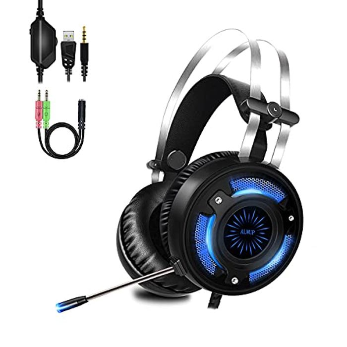 DEAL STACK - Gaming Headset for PS4, PS5, Xbox One Headsets + 30% Coupon