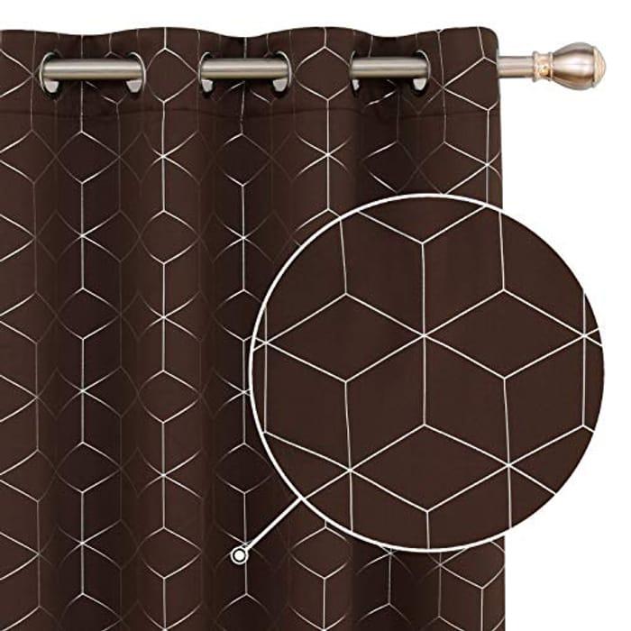 Deconovo Blackout Curtains - 55 X 54 Inch