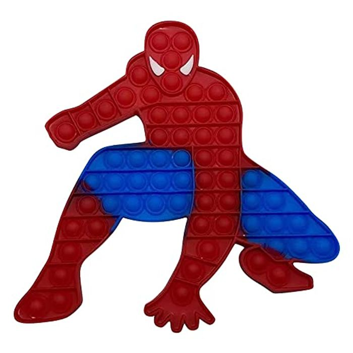 Super Character Fidget Toys - Big Size Silicone Sensory Pops Toy - Only £2.98!