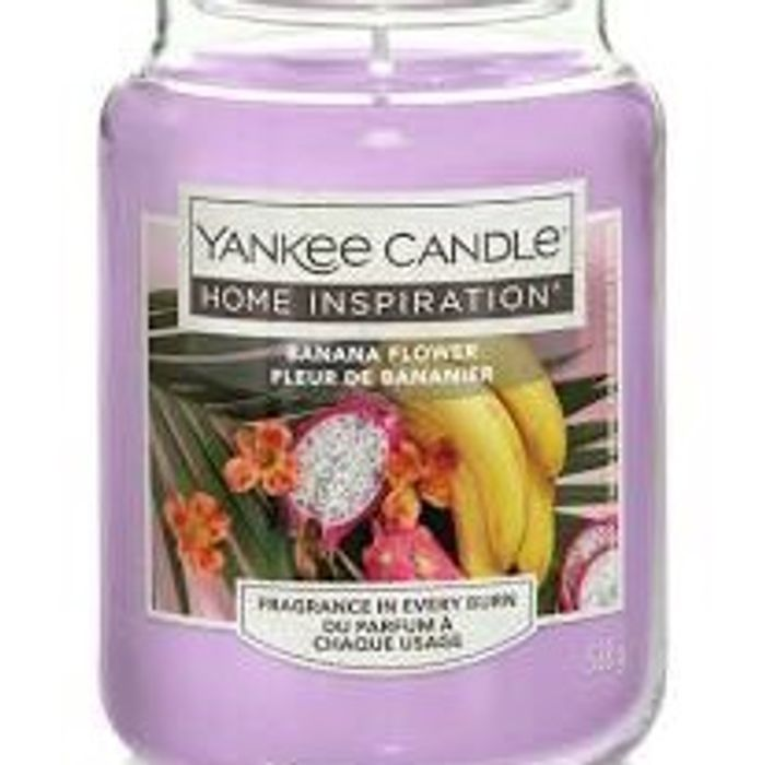 Yankee Candle LARGE - Banana Flower