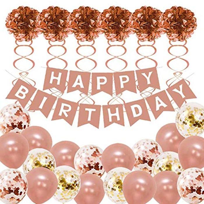 52Pcs Birthday Party Decorations