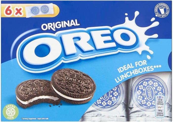 Cheap Oreo Original Vanilla Lunchbox Sandwich Biscuits, 132 G at Amazon