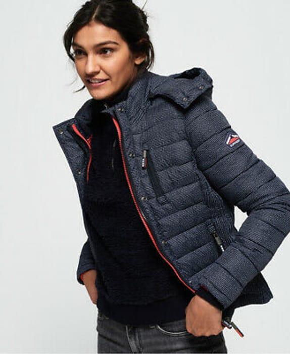 58% Off - Superdry Women's Fiji Double Zip Jacket - £35.99 Delivered