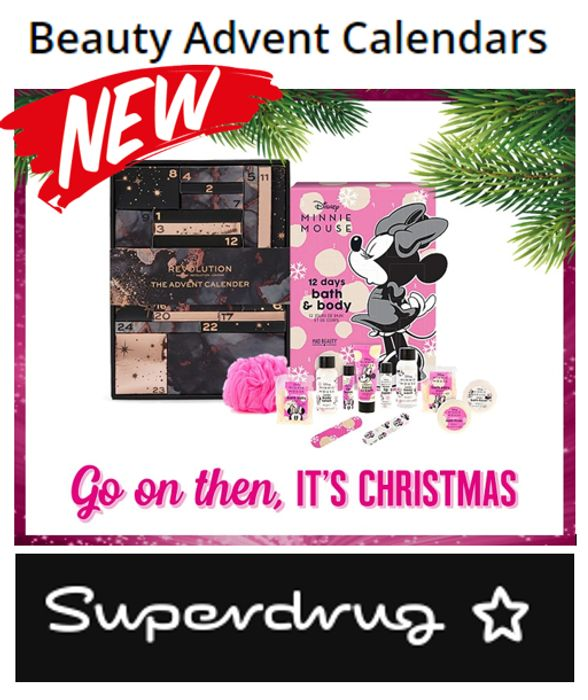 NEW IN! Christmas 2021 - Beauty Advent Calendars - from £20