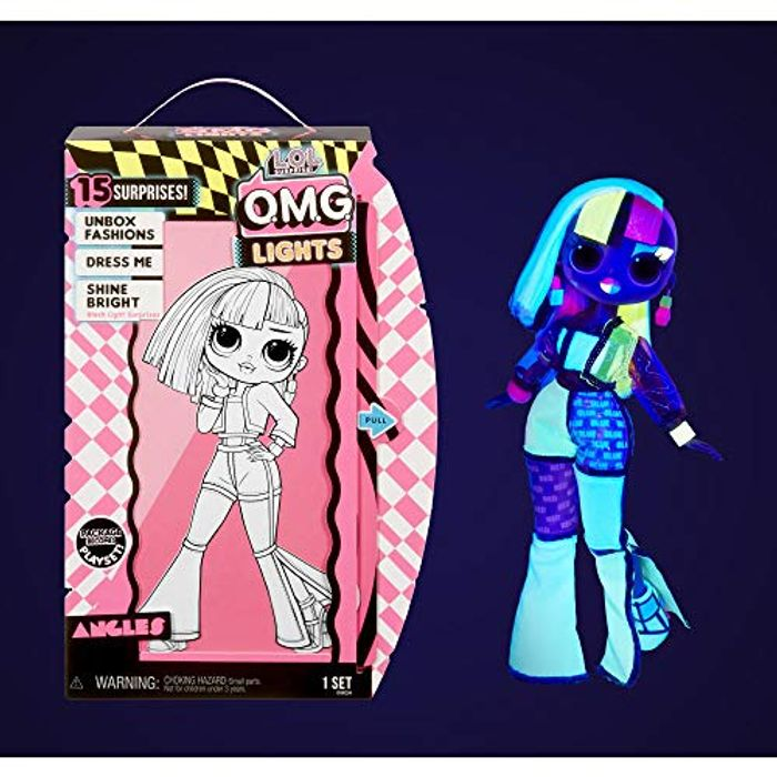 LOL Surprise Dolls 15 Surprises, Clothes and Accessories OMG Lights Series