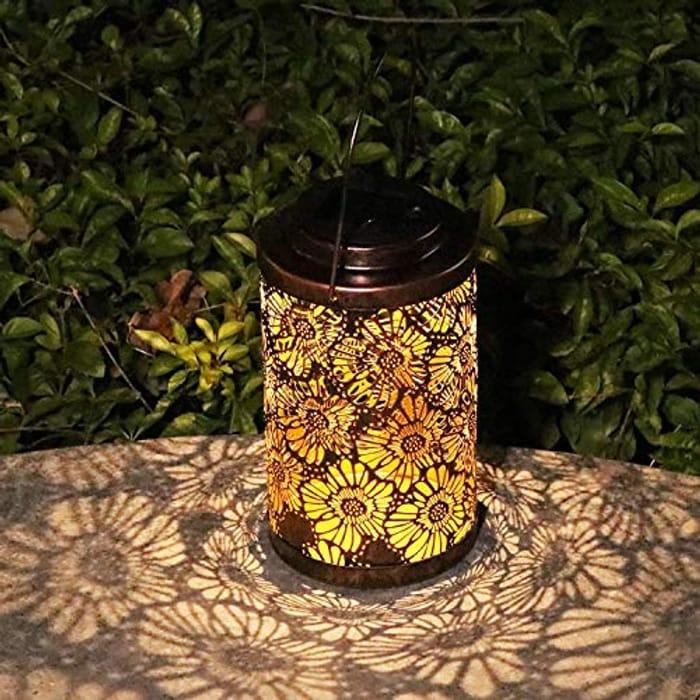 Solar Lanterns Outdoor Garden Hanging Decorative Lights - Only £5.99!