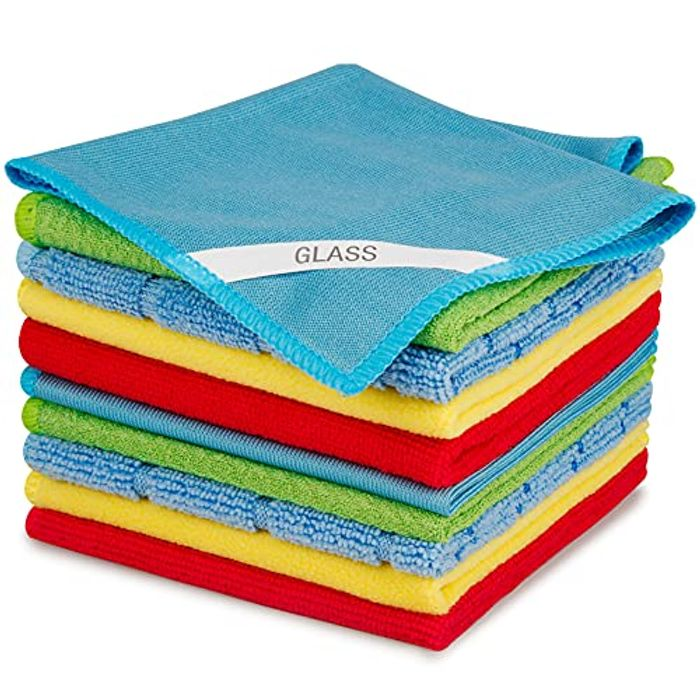 Microfibre Cleaning Cloths 10 Pack