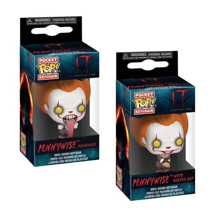 Funko Pocket POP IT Chapter Two Pennywise Vinyl Figure Keychain (Plus Others)