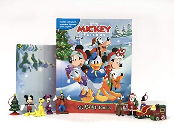 Disney Mickey's Christmas My Busy Book