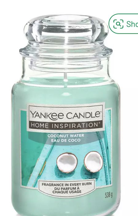 Yankee Candle Large Jar Candle - Coconut Water