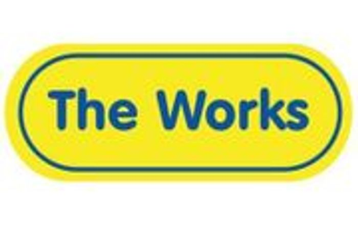 20% off £10+ Spend at the Works