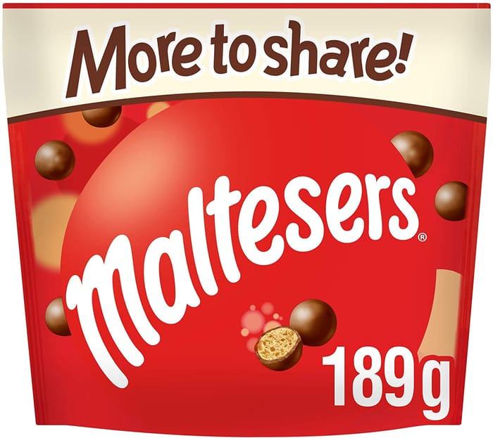 Maltesers Chocolate - Sharing Bag, 189g