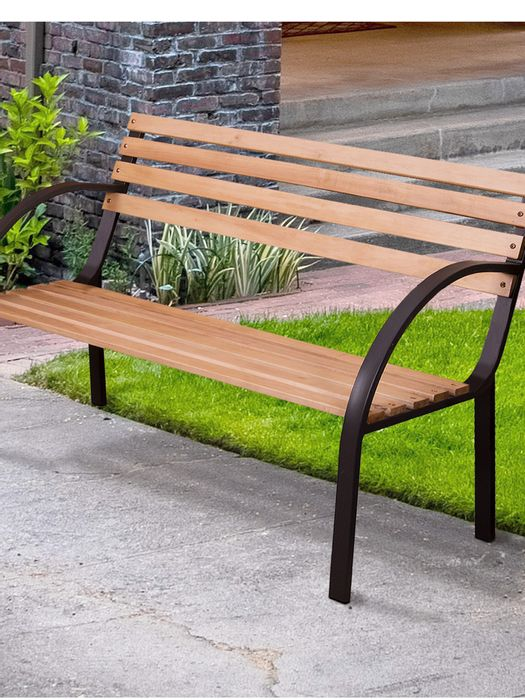 Wooden 2 or 3 Seater Garden Bench Botanic  Free Delivery