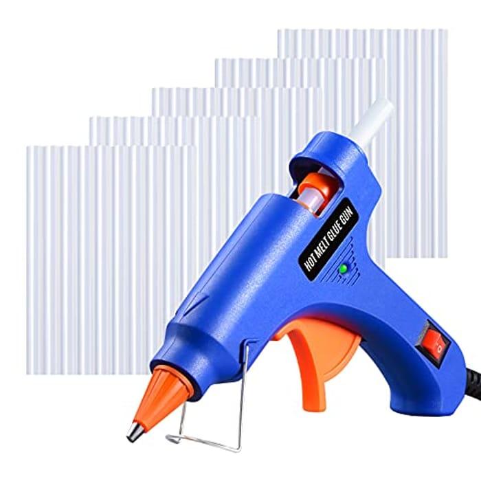 Hot Melt Glue Gun with 30pcs Glue Sticks