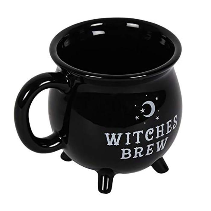 Something Different Witches Brew Cauldron Mug Black