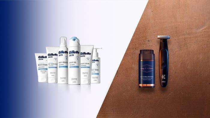 Free Gillette Razor and Shaving Cream