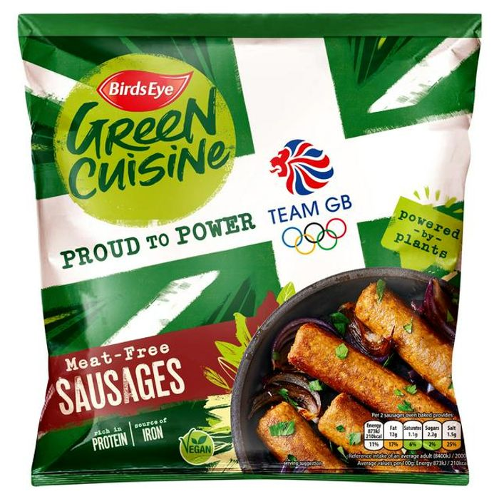 Birds Eye Green Cuisine Meat Free Sausages X6 300g